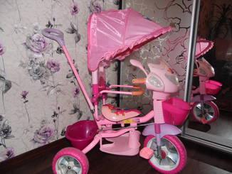 Трехколесный велосипед Disney Princess