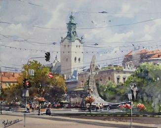 "Картина ""Львов"".. Микитенко Виктор"