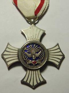 Серебряный орден заслуг Красного креста, Япония .