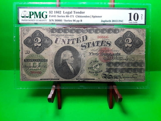 $2 1862  Legal Tender
