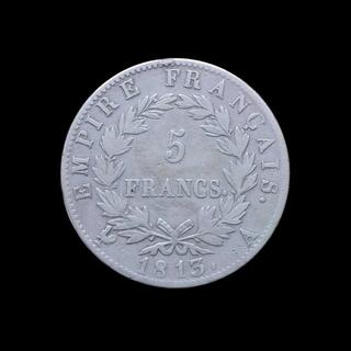 5 Франков 1813 А Наполеон Бонапарт Франция 171 Violity