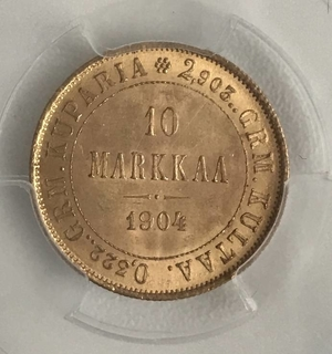 10 Markkaa 1904 года R 1 171 Violity 187 Auction For Collectors