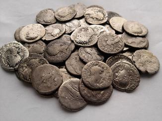 Серебряные денарии 50 штук 171 Violity 187 Auction For Collectors