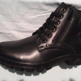 Ботинки кожаные зимние, 37 размер