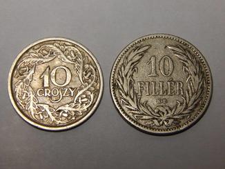 10 грошей и 10 филлеров 171 Violity 187 Auction For Collectors