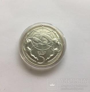Сан Марино 2007 5 евро серебро