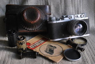 ФЭД - НКВД УССР № 63094, с Sonnar 2/50mm