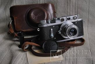 Зоркий-2, № 207 ,  Индустар-50 , 1954 года, первый,  начало выпуска.