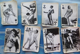 Knight's Gallery Playing Cards Pin Up Erotic
