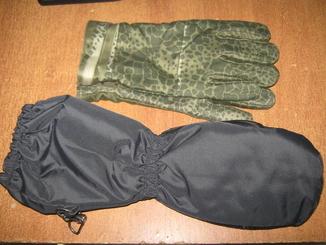 Лот перчатки + варежки