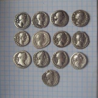 Монеты Древнего Рима денарии 13 штук 171 Violity
