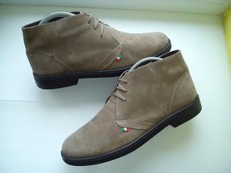 Ботинки  Made in Italy из Натуральной Кожи (Розмір-42.5)