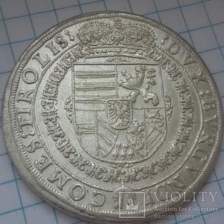 Талер 1628 год.