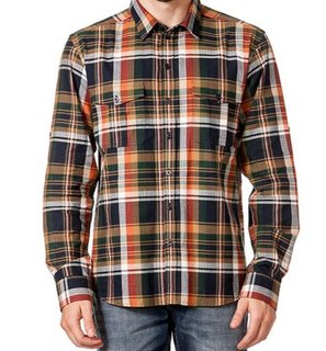 Мужская рубашка в клетку LTB размер XXL