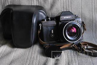 Фотоаппарат Алмаз-103 № 1591 выпуск 1985 г №1