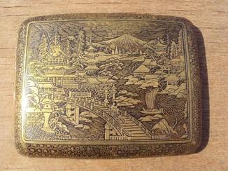 Портсигар с драконом, Япония, конец 19 века.