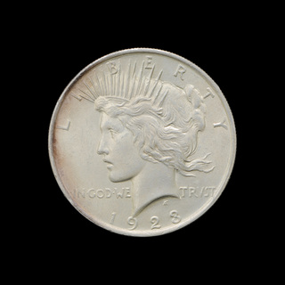 1 Доллар 1923 Мирный США 171 Violity 187 Auction For Collectors