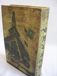 Книга шкатулка Paris