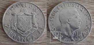 Албания 2 FRANGA ARI 1935 г.
