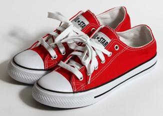 0205 Кеды Converse All Star Цвет Красный 40 размер 25 см стелька