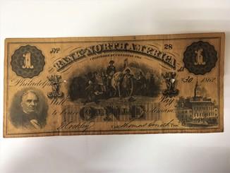 1 доллар 1862 года