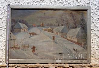 ''Зима в селе''