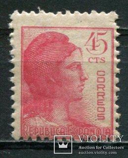 1938 Испания Символ республики 45с