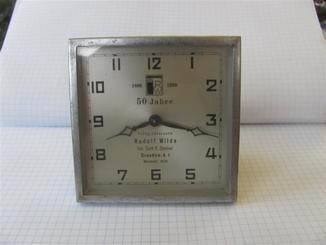 Часы настольные Rudolf Wilde. berlin на ходу