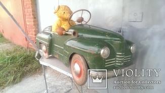 Детская игрушка машинка педальная урал СССР