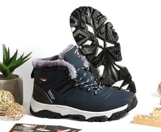 0256 Спортивные ботинки Sitvo Синие Нубук 41 размер 26 см стелька