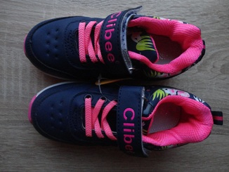 Детские кросcовки для девочек Clibee (26-31)