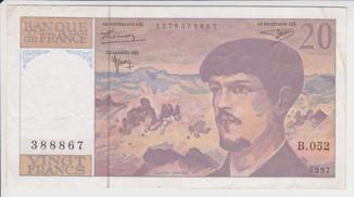 Франция. 20 франков