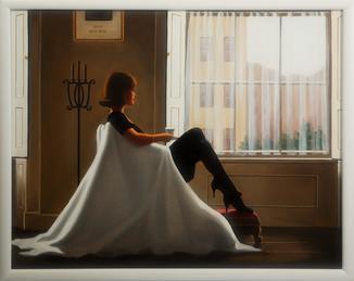 Картина маслом на холсте ′В мыслях о тебе′ 2006 г