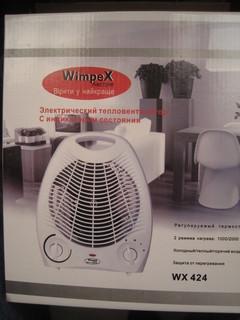 Тепло Вентилятор WimpeX WX 424 -2
