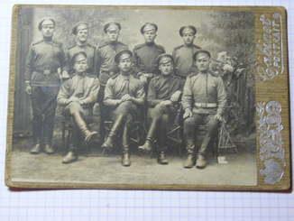 Солдаты РИА артиллерия.