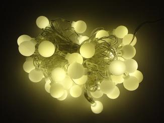 Новорічна гірлянда на 40 лампочок. Гірлянда для декору.