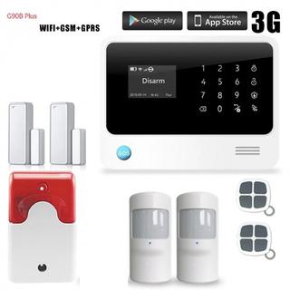 WIFI GSM Сигналізація Golden Security G90B+ PLUS для дому офісу складу