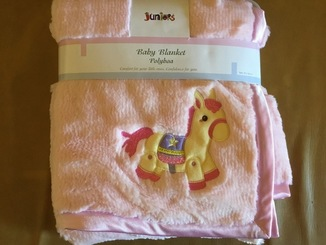 Детское одеяло плед розовое, новое