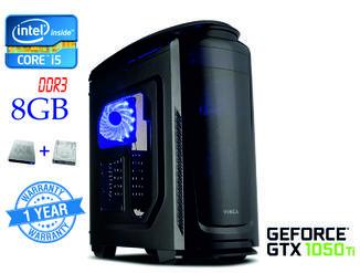 Компьютер Intel Core i5-4570 4-ядра 3.2-3.6GHz/8GB-DDR3/SSD 120GB/HDD 500GB/ GTX1050Ti 4GB