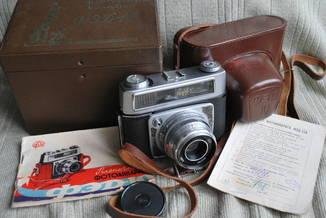 Фотоаппарат ФЭД-10, И-61, документы, упаковка №4.