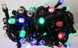 Новорічна гірлянда «Рубін» на 100 лампочок LED .Новогодняя гирлянда.