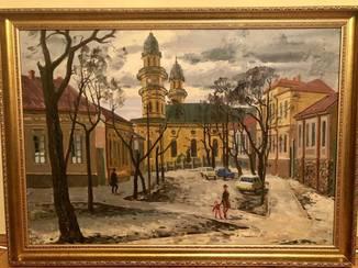 "Демидюк. ""Ужгород. Вид на кафедральний собор"""
