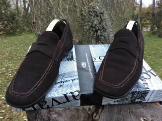 Кожаные Туфли - Мокасины от Бренда PRADA / made in ITALY