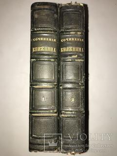 1847 Сочинения Княжнина Красивые Переплёты