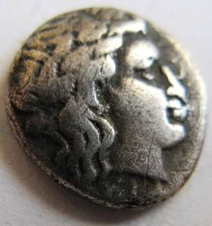 Серебряная гемидрахма, г. Kios, Bithynia (350-300 гг. до н.э.)