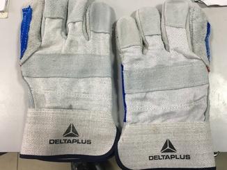 Перчатки рабочие кожаные Delta Plus