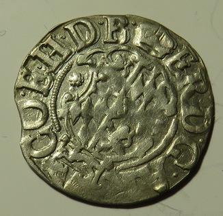 1/24 талера 1609 года Эрнста фон Байерн, архиепископа Кёльна