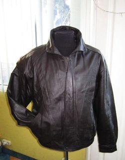Большая кожаная мужская куртка CANDA. Лот 331