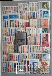 Полный комплект марок СССР 1961 - 1991 года. Без четырех блоков.