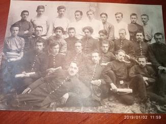 Получение аттестатов 1907г Выпускники ПКГ